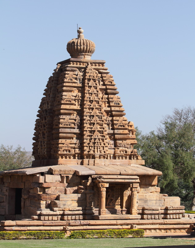 Pattadakkal temple with north indian type temple architecture
