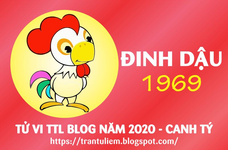 TỬ VI TUỔI Kỷ DậU 1969 NĂM 2020