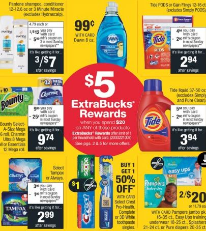 15 CVS P&G Coupon Deals Ideas - 5/26-6/1