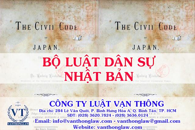 vanthonglaw, luật vạn thông, bộ luật dân sự nhật bản, công ty luật