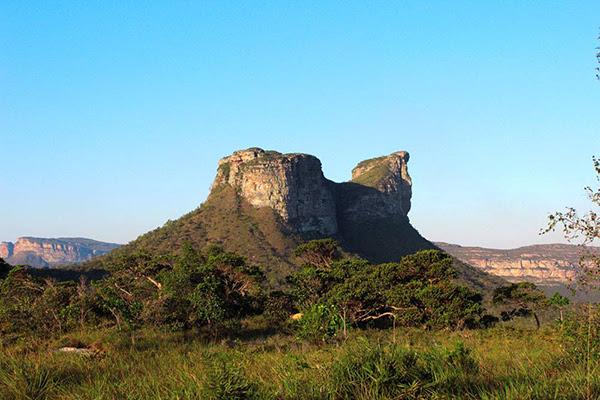 Morro do Camelo, em Palmeiras. (Foto: Thais de Albuquerque)