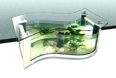 Model Meja Aquarium