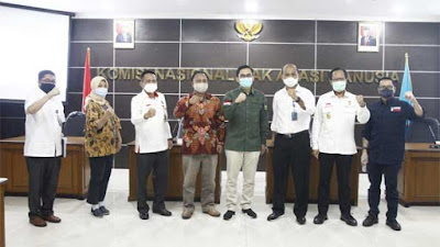 DPD RI dan Komnas HAM Bahas Penanganan Akibat Penambangan Timah di Bangka