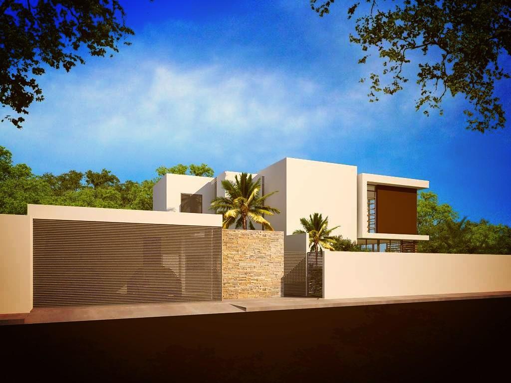 Fachadas de casas modernas junio 2013 for Fachada de casas modernas lujosas
