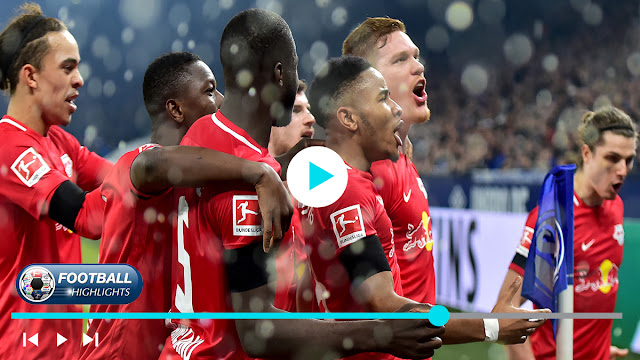 Schalke 04 vs RB Leipzig – Highlights