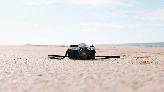 Kamera di Pantai
