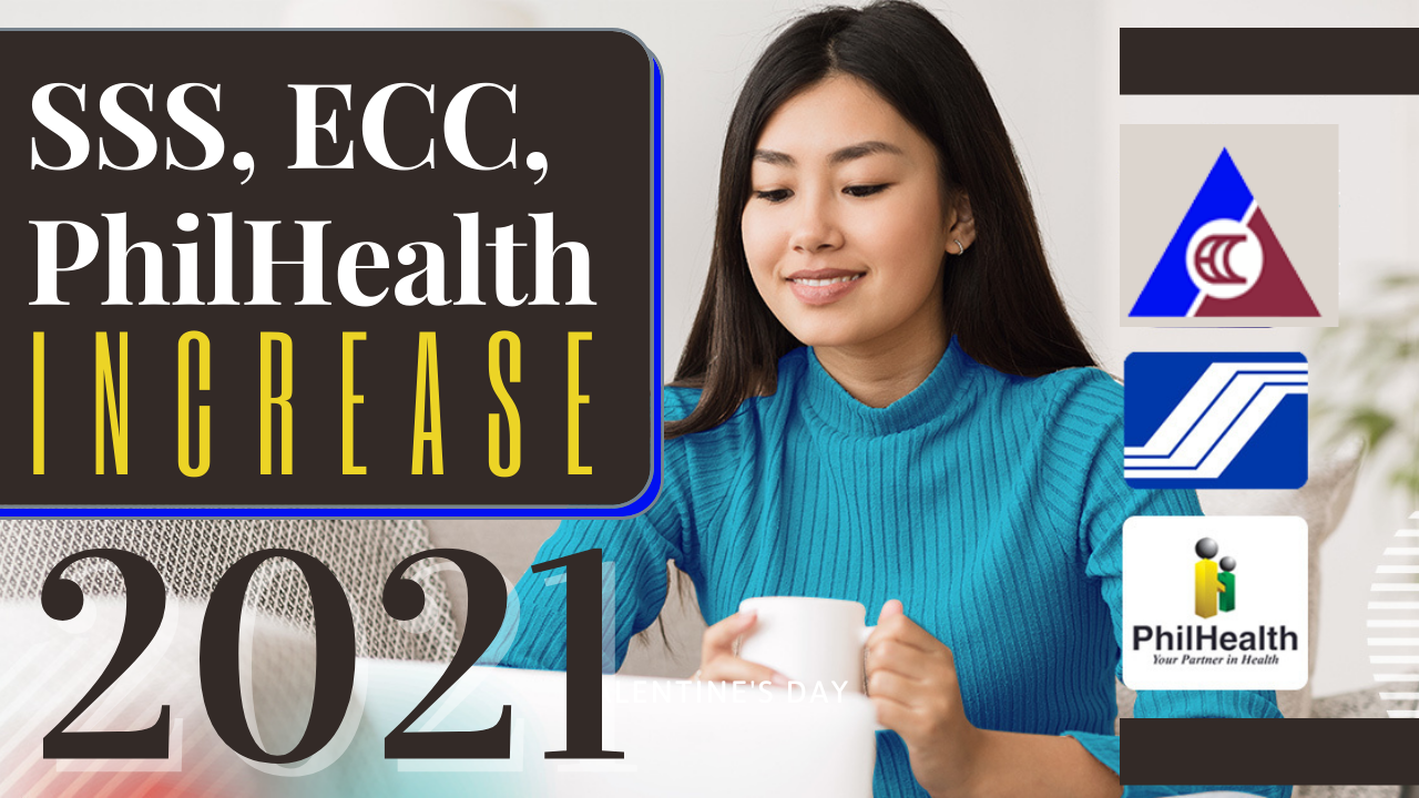 increase in Social Security System (SSS)/Employees' Compensation Commission (ECC) and Philippine Health Insurance Corp. (PhilHealth) Premium contribution effective January 1, 2021