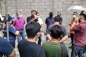 Komisi II DPRD Kota Manado Tinjau Lokasi Bangunan Eks RM Dego-dego
