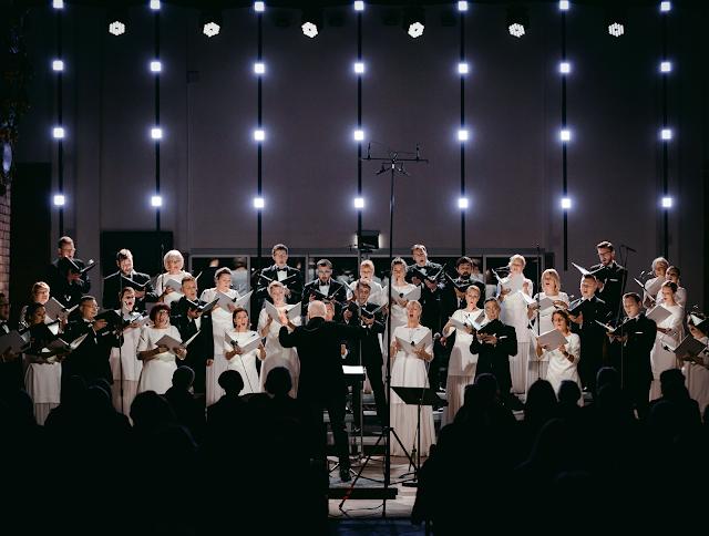 """State Choir """"Latvija"""" and Māris Sirmais"""