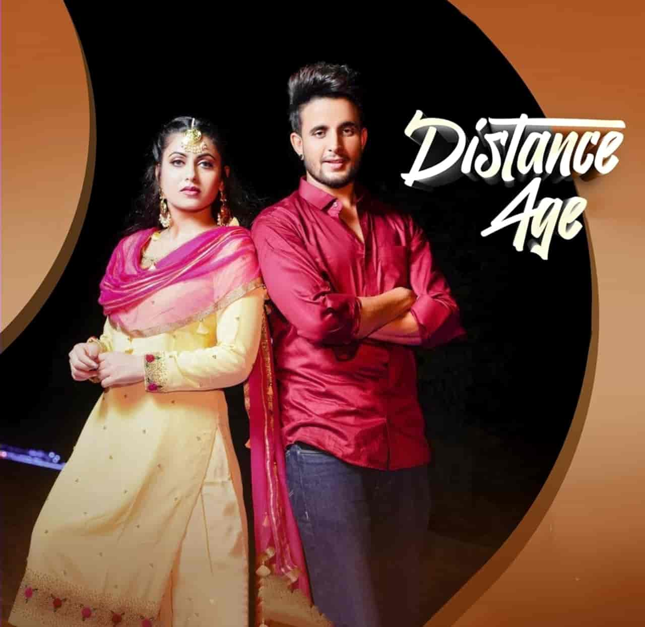 Distance Age Punjabi Song Image By R Nait And Gurlez Akhtar