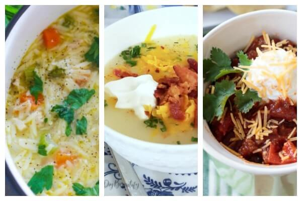 soups with cheese