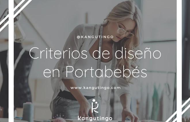 Criterios de diseño en Portabebés