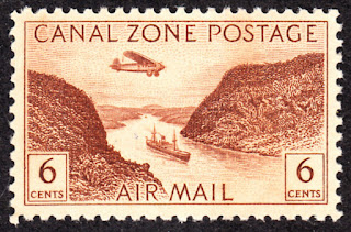 Canal Zone Airmail Panama Canal