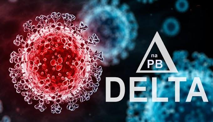 Paraíba registra mais 100 novos casos da variante Delta do novo coronavírus, diz SES