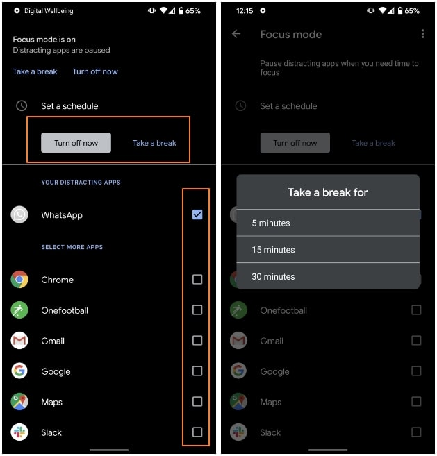 cara-aktifkan-mode-fokus-android