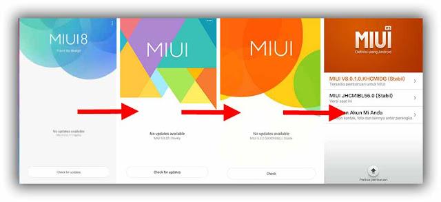 Cara Aman Downgrade MIUI Xiaomi Redmi 1S