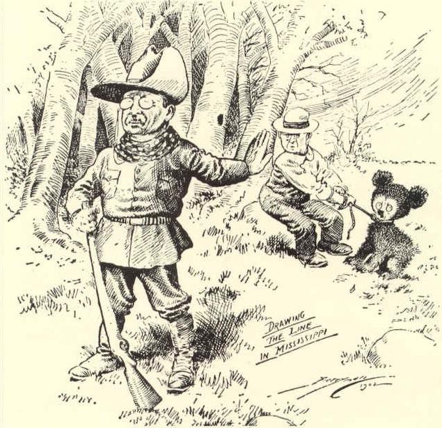 Teddy with bear