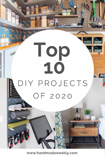 The Top 10 DI Y Projects of 2020, One of my favorites this week at Encouraging Hearts and Home, link-up your creations, right here at Scratch Made Food! & DIY Homemade Household!