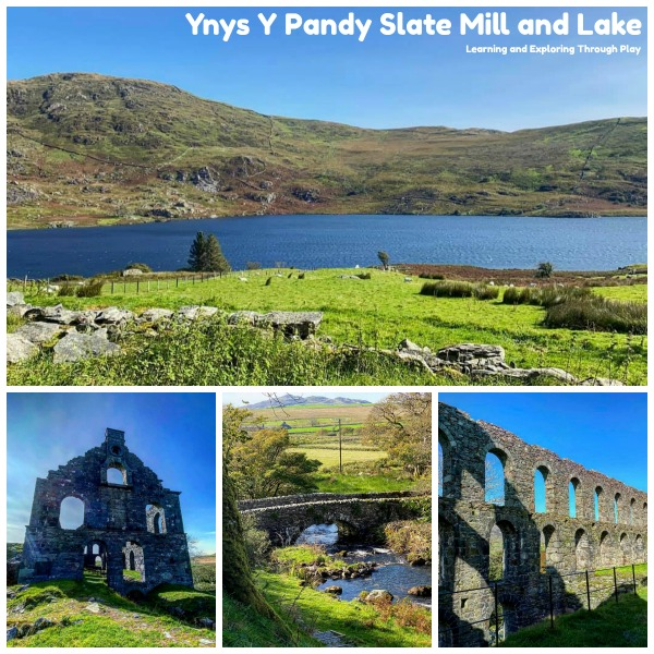 Ynys Y Pandy Slate Mill and Lake - Places to Visit in North Wales