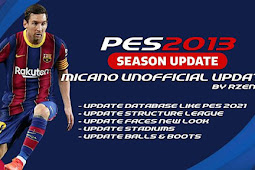 Patch Micano Unofficial Update Season 2021 - PES 2013