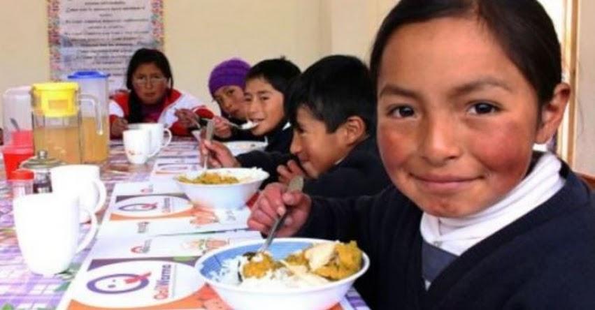 Qali Warma aumentó de manera importante acceso a desayunos y almuerzos escolares en el 2018 - www.qaliwarma.gob.pe