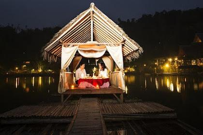 Ke Kampung Sampireun di Garut untuk Menjemput Rindu dalam Penginapan di Atas Danau