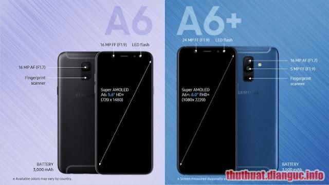Hướng dẫn xoá xác minh tài khoản Google (bypass FRP) cho Samsung A6 (2018) và A6+ (2018)
