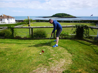 Miniature Golf Putting Green in Looe, Cornwall