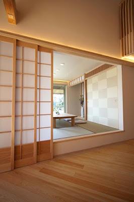 ruang tamu lesehan ala jepang untuk rumah minimalis - bang