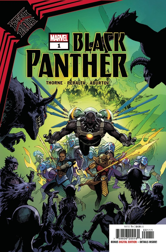 Cover of King in Black: Black Panther #1