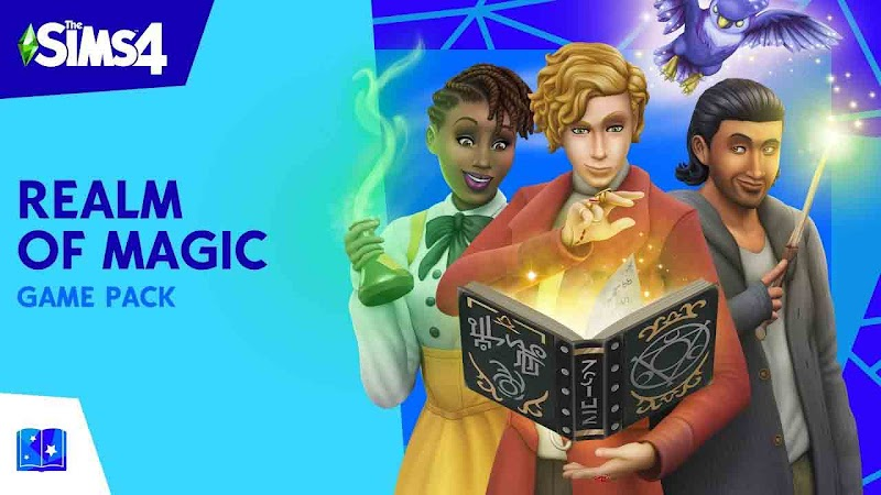 THE SIMS 4 PATCH UPDATE GAMEPACK REALM OF MAGIC