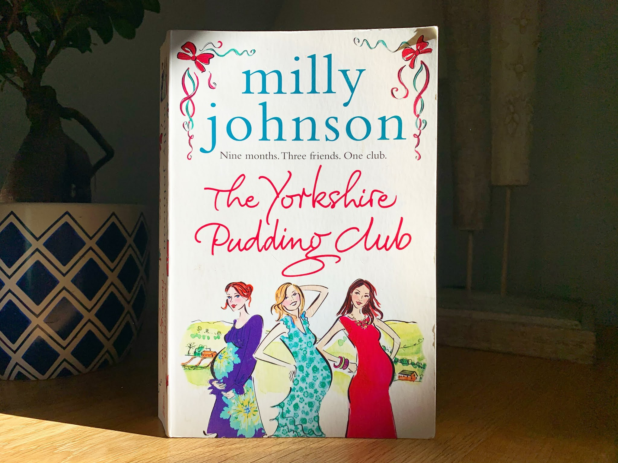 The Yorkshire Pudding Club by Milly Johnson on a shelf