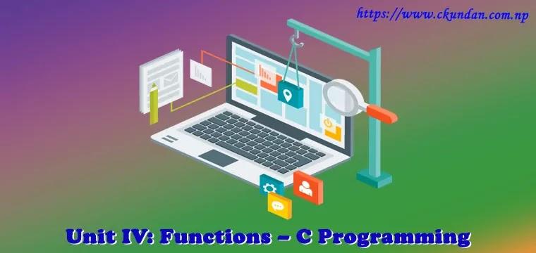Functions – C Programming