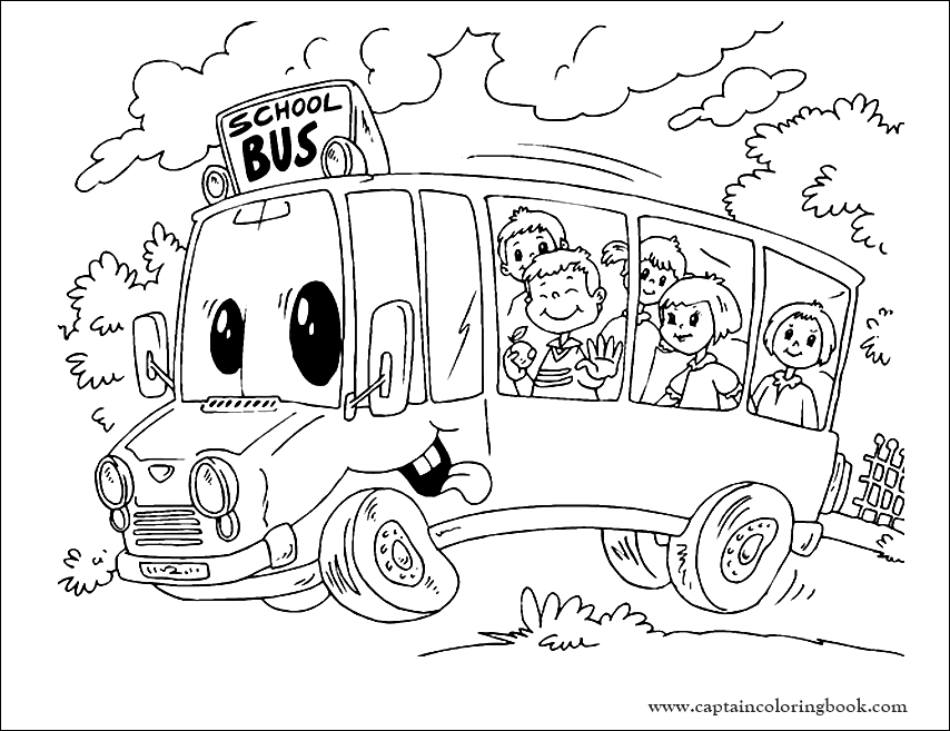 Bus Coloring Pages Collection   School bus crafts, Wheels on the ...   657x854