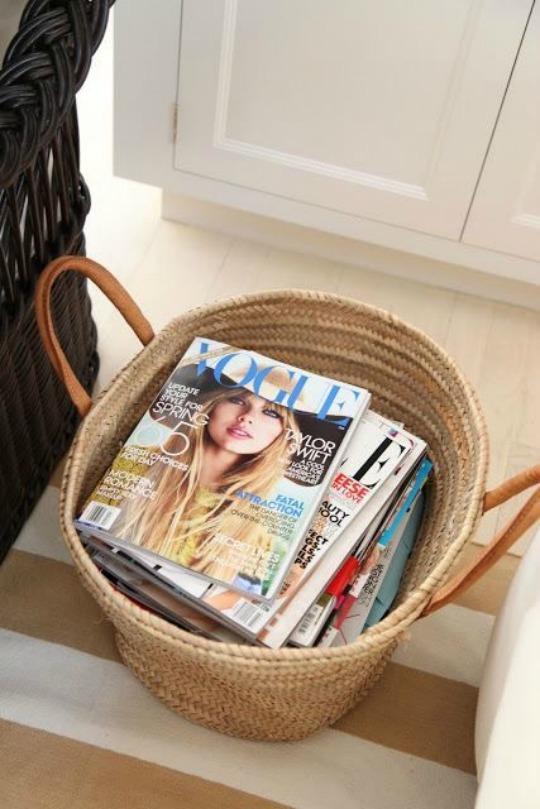organizar revistas en revistero