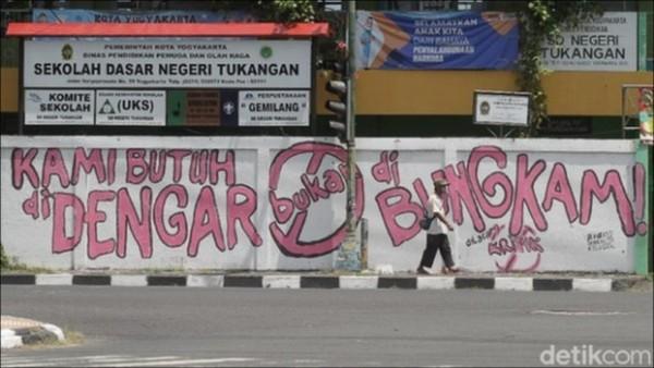 Mural Kritik Adalah Jeritan Nurani Rakyat, Alarm Peringatan Bagi Pemerintah