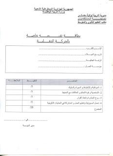 الإستمارة وبطاقة الرغبات للحركة التنقلية للاساتذة لولاية معسكر بصيغة word