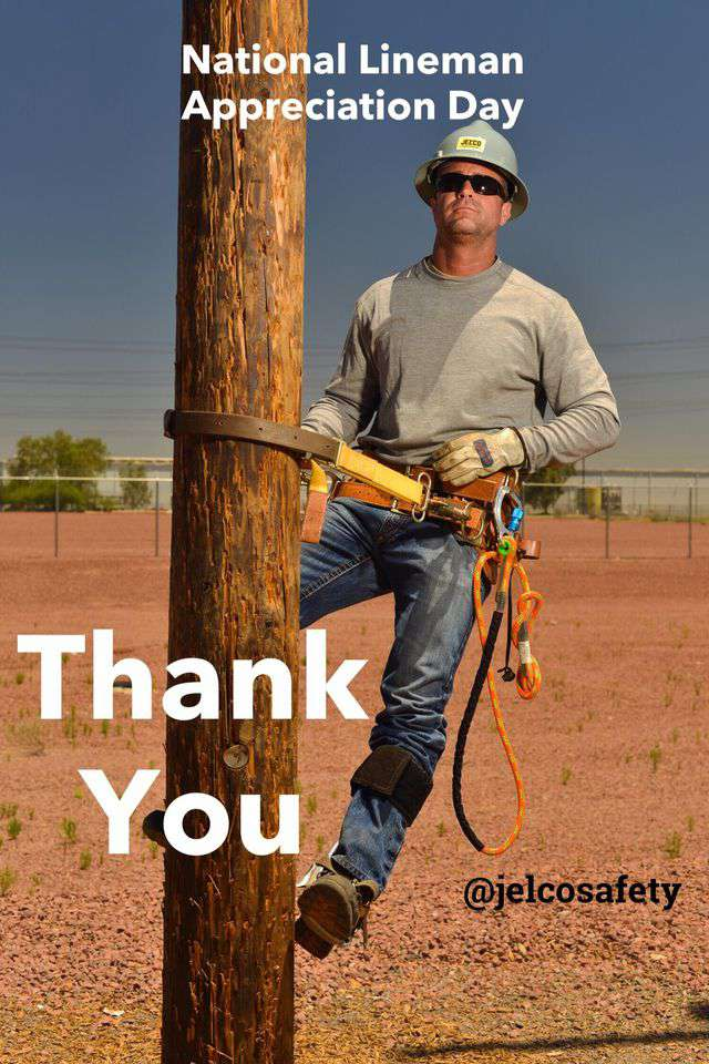 National Lineman Appreciation Day Wishes Awesome Picture