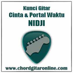 Chord Nidji Cinta & Portal Waktu