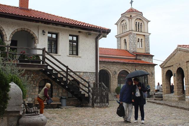 St Naum Ohridski Church architecture North Macedonia