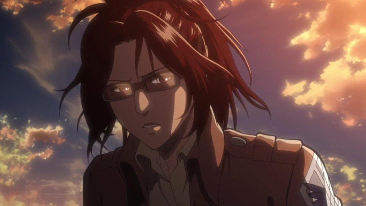 アニメ「進撃の巨人」ハンジが問い詰めた