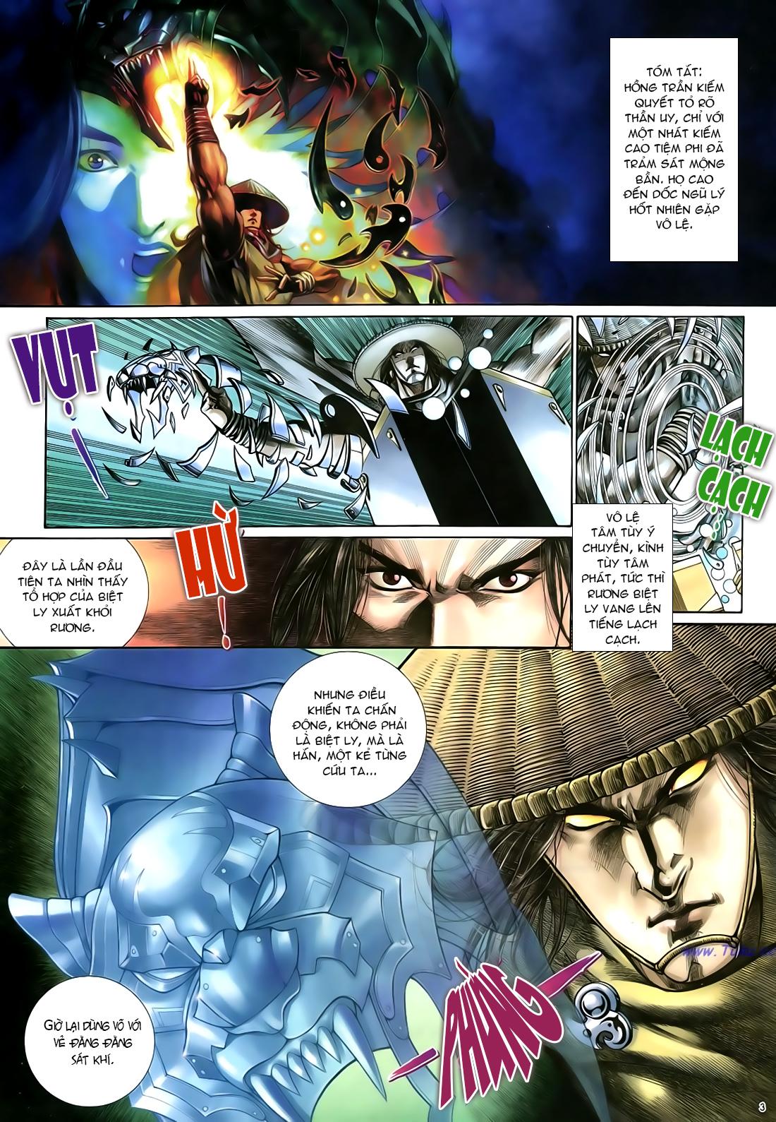 Anh hùng vô lệ Chap 21 trang 4