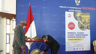 Hari Ini, Lebih 250 Pelajar Indonesia dan Ethiopia Ngobrol Bareng