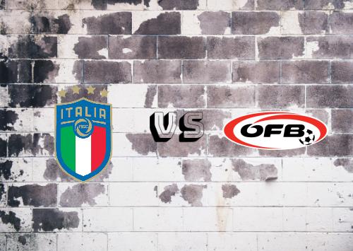 Italia vs Austria  Resumen y Partido Completo