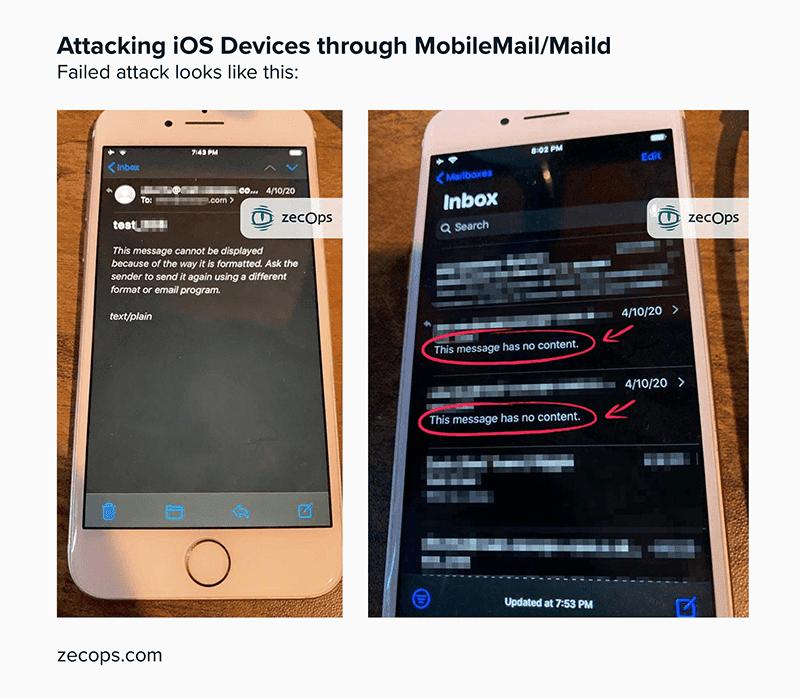 ZecOps reveals Mail app vulnerability