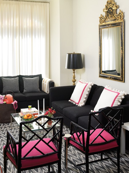 House On Ashwell Lane Living Room Inspiration Pink