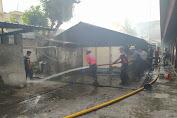 Dapur Pondok Putra Yayasan Darul Muhajirin Ludes Tebakar