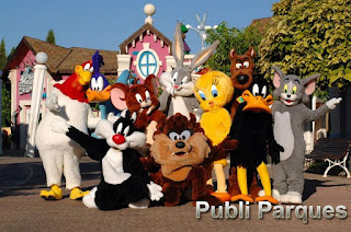 Looney tunes Parque Warner