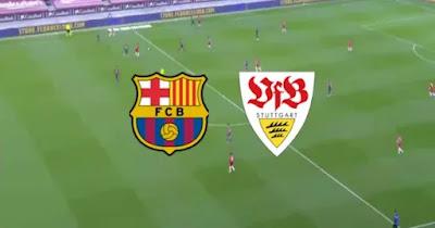 مباراة برشلونة وشوتجارت بث مباشر كورة لايف