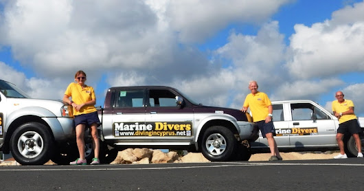 Meet the Fleet. Marine Divers Owners/Instructors ready to roll for 2017